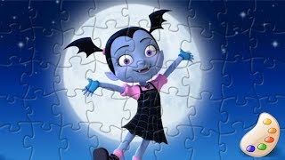 Vampirina Fun Kids Puzzle Games