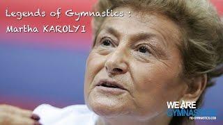 Legends Of Gymnastics Martha Karolyi Usa