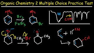 Organic Chemistry 2 Final Exam Review Multiple Choice Test - 100 Practice Problems