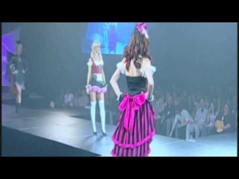 Las Vegas International Lingerie Show Featuring Eye Candy Sexy Women's Costumes
