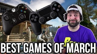 The BEST PS4 and Xbox One Games of March 2018!   RGT 85