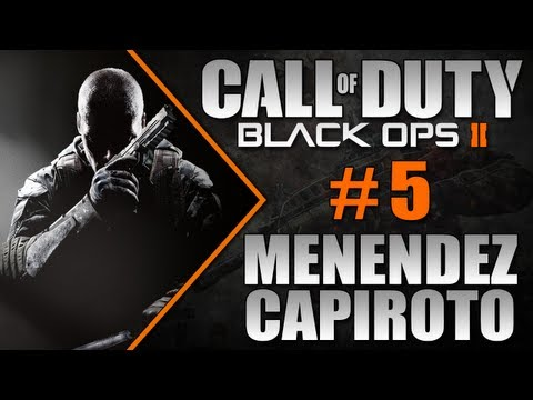 COD Black Ops 2 - Campanha #5 - Menendez Capiroto