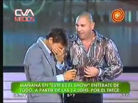 Hernán Piquin en Showmatch 1...