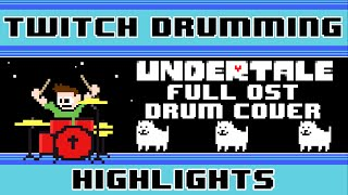 Undertale OST (Drum Cover) -- The8BitDrummer