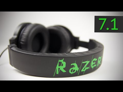 Razer Kraken Pro 7.1 Unboxing & Review