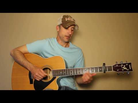 Written In The Sand - Old Dominion - Guitar Lesson | Tutorial