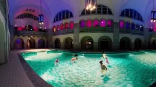 Tanzperformance im Stadtbad Oderberger in 360 Grad