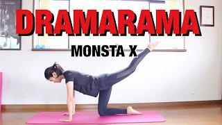 【K-POP筋トレ】お尻引き締めヒップアップトレーニング! MONSTAX 「DRAMARAMA」 | K-POP WORKOUT