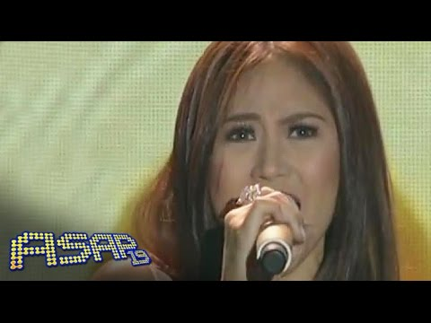 Sarah Geronimo Sings Sia's  Chandelier On Asap video