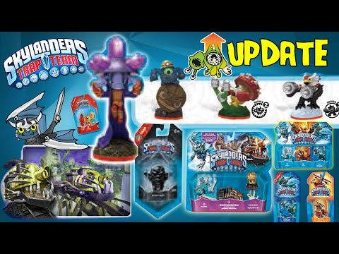 Skylanders Trap Team: BLASTERMIND, ROCKY ROLL, BLADES, NIGHTMARE EXPRESS Adv. Pack + More Update