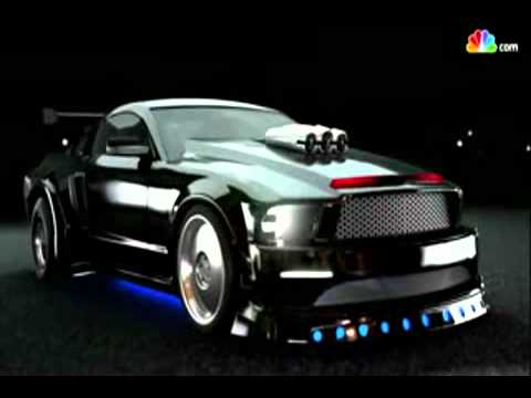 Knight Rider - KITT transforming.mp4