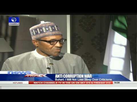 I want To Be Remembered For Fighting Corruption To A Standstill - Buhari   301015