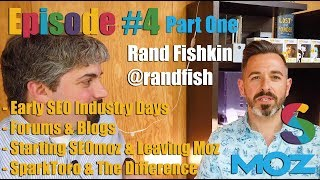 Rand Fishkin Of SparkToro On Early Days At Moz, SEO Community, VC Funds & More (Part One) : Vlog #4