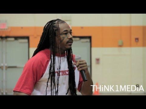 JIWE AND ARSONAL MOTIVATIONAL SPEECH AT ORANGE HIGH SCHOOL By Frankie Harley Jr