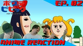 GOODBYE DIGNITY | Anime Reaction: Pop Team Epic Ep. 02