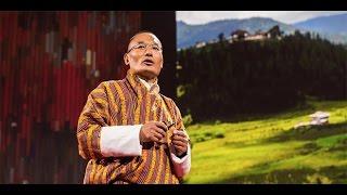 Bhutan Başkanının Efsane Ted konuşması...