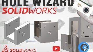 SolidWorks Tutorial Indonesia #014 (Eng Sub) -  Hole Wizard