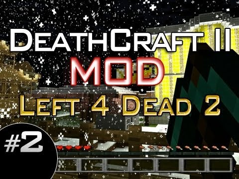 DeathCraft II -- Left 4 Dead 2 Minecraft Mod w/Mitch & Friends Part 2 - Speed Running