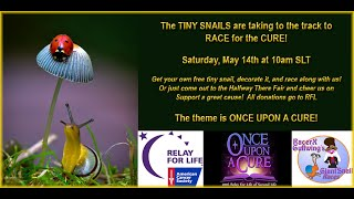 Giant snail race 422 16 May 14 RFL Halfway there fair Race