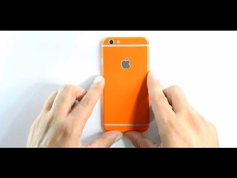 EasySkinz GLOSSY iPhone 6 Skin,  Wrap - Installation / Review