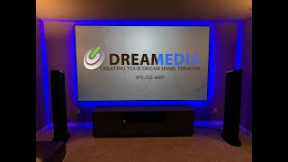"""WOW!!! JVC RS3000/NX9 8K Projector with SI Zero Edge 135"""" Slate 1.2 Screen (Demo At- 28:12)"""