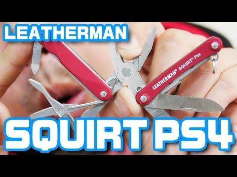 マルチツール「レザーマン Squirt Ps4」 video