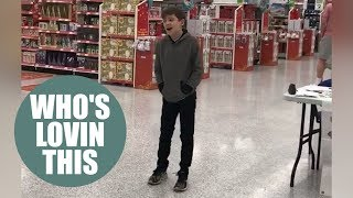 Boy who has autism finds record deal after breaking into song in Asda