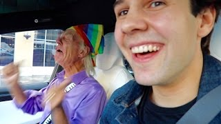 YOU WONT BELIEVE THIS HITCHHIKER I PICKED UP!!