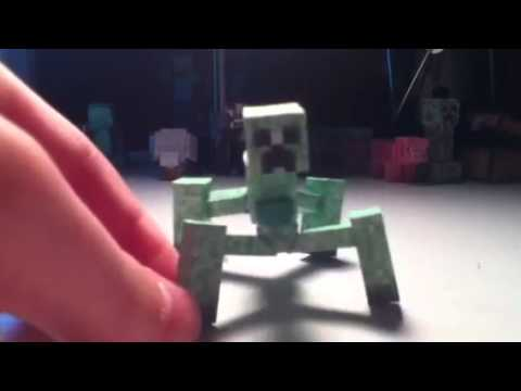 Minecraft Papercraft Mutant