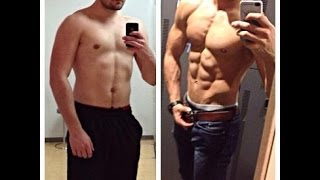 Amazing Body Transformation -From Skinny To Strong boy 2015