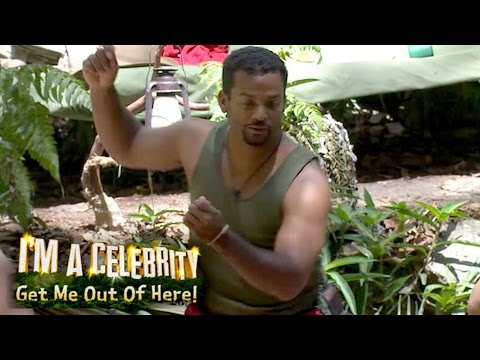 Alfonso Ribeiro Teaches How To Do The Carlton Dance | I'm A Celebrity... Get Me Out Of Here!