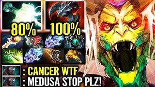 Dota 2 is Cancer!! - Medusa with 75% Lifesteal   Raidboss 1 vs 4 Epic Dota 2 Gameplay