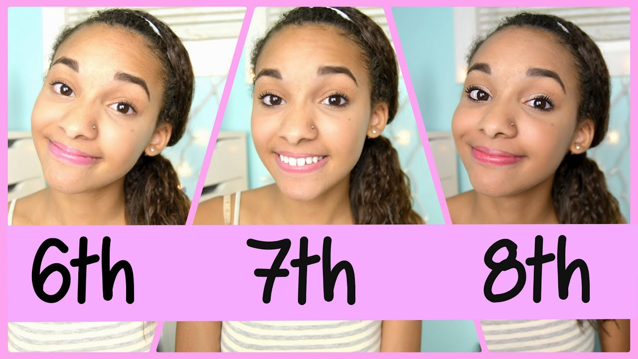 tutorial &  makeup YouTube 6th, Middle looking natural Grade!  for 8th School Makeup:  7th school