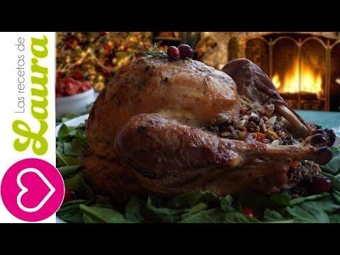 Receta de Pavo al horno con romero y ajo queda delicioso y jugoso Recetas para Cena de Navidad