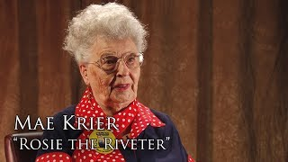 "Full Interview: Mae Krier, ""Rosie the Riveter"""