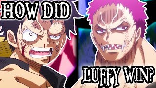 Luffy vs Katakuri - What Happened? | One Piece Discussion