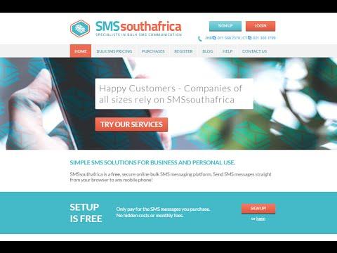 Bulk SMS South Africa | Training Tutorial | Crash Course