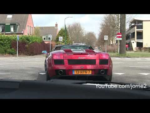 Red Gallardo Spyder Sound!! - 1080p HD