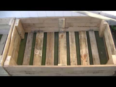 Raised Beds For FREE From Old Pallets!!!