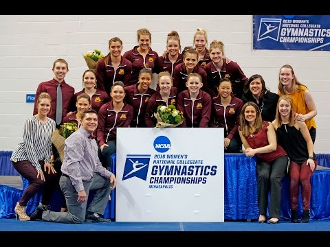 Highlights: Gopher Women's Gymnastics Advances to 2016 NCAA Championships