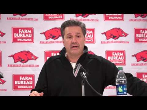 Kentucky Wildcats TV: Arkansas Post Game Presser w/ Coach Calipari