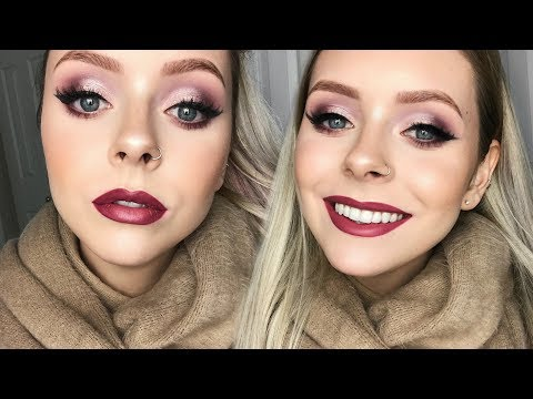 DRUGSTORE HOLIDAY MAKEUP TUTORIAL | Easy & Affordable