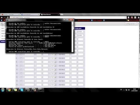 abrir puerto en modem arris WTM652