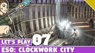 Finishing Dailies, The Elusive Skyshard! #07 Let's Play ESO: Clockwork City