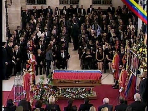 Comenzó ceremonia de Estado en honor a Hugo Chávez