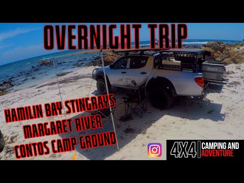 Down South Western Australia Camping Trip, Hamilin bay Contos Campground and Margaret River