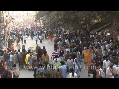 Millions of Hindu pilgrims throng Kumbh Mela at Allahabad
