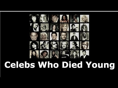 40 Celebrities Who Died Young video