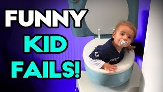 TRY NOT TO LAUGH _ Funny Kids Fails Compilation  2018