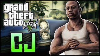 GTA 5 Easter Eggs - Where is CJ In GTA 5? (Easter Egg Myth Solved)